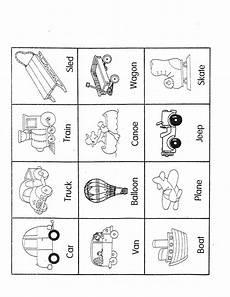 transportation worksheets preschool 15223 transportation ideas for literacy kindergarten nana