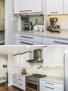 kitchen design idea store your kitchen appliances in an