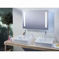 miroir de salle de bains avec 233 clairage led mod 232 le