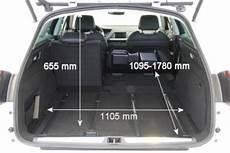 citroen c4 grand picasso kofferraum abmessungen adac auto test citroen c5 crosstourer hdi 165 fap
