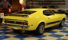 1973 Ford Mustang Mach 1 – Yellow / Black A&ampE Classic Cars
