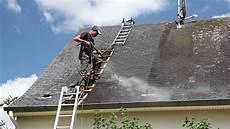 nettoyer toit ardoise naturelle nettoyage vapeur