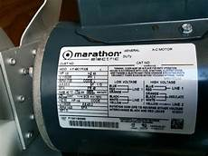 marathon motors wiring diagram i have a marathon electric motor 1 3 hp im trying to understand