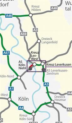 Stau A1 Köln - sperrung der a1 stau auf autobahnen zwischen k 246 ln