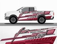 Vinyls Sticker Set Decals For Car Truck Mini Bus Modify