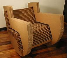 cardboard rocking chair slotted design no adhesives or