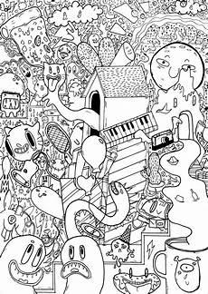 doodle pizza piano co doodles coloriages difficiles