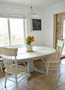 white chalk paint dining table distressed pretty distressed using a polycrylic sealer