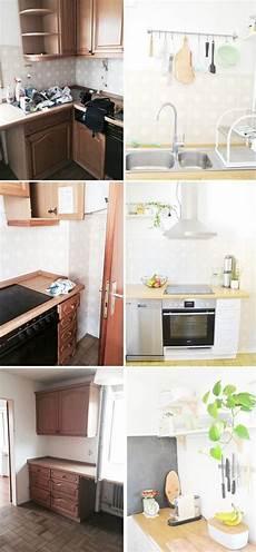küche neu streichen makeover k 252 che versch 246 nern vorher nachher teil 2