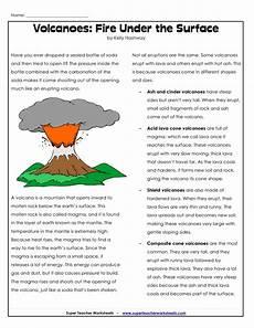 science worksheets volcanoes 12440 parts of a volcano printable volcano worksheets volcano worksheet earth science homeschool