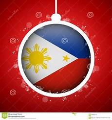merry christmas philippines pictures merry christmas ball with flag philippines stock image image 35205771