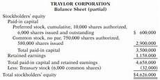 solved the stockholders equity section of traylor corporation s balanc 1 answer