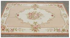 3x5 Shabby Chic Pink Ivory Aubusson Area Rug Home