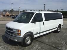 Find Used 2002 Chevrolet Express 15 Passenger Van 3500