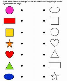 shapes worksheet matching 1179 38 best images about preschool shapes on gingerbread memory and primary