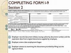 ppt form i 9 employment eligibility verification form