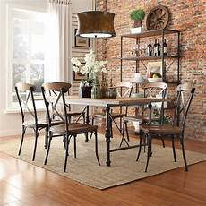 oxford creek allison rustic 7 piece dining home
