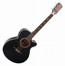 Rocktile Empire Acoustic Steel String Guitar With Black