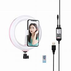 Inch Rgbw Color Ring Light by Flash Lighting Puluz Pu503f 7 9 Inch 20cm Dimmable Rgbw