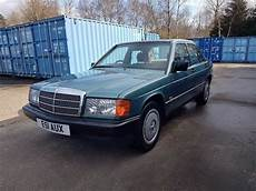 old car owners manuals 1988 mercedes benz w201 1988 mercedes benz 190 2 0e w201 automatic 90k miles 12 mth mot 3 owners mint modern classic