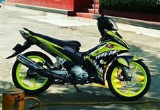 Variasi Motor Mx 135 by Jual Striping New Jupiter Mx 135 Cc Motif Shark Di Lapak