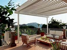 terrazzi attrezzati foto pergola per terrazzi di rossella cristofaro 497483