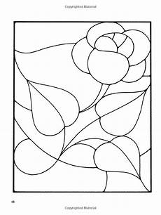 Floral Stained Glass Pattern Book floral stained glass pattern book dover