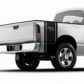 Dodge Ram R/T 1500 Hemi Truck Bed Side Vinyl Decal Sticker