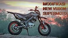 Modifikasi New Megapro Supermoto by Modifikasi New Vixion Supermoto