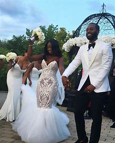 i introduce to you mr mrs robotham shaqanddrewsayido african and african american wedding