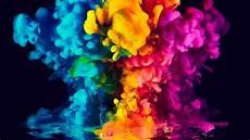 Smoke 4k Wallpaper by Wallpaper Colorful Ink Smoke Vibrant 4k Photography