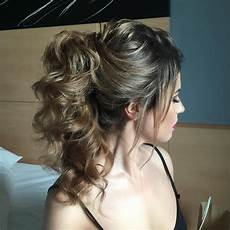 Bump Ponytail Hairstyle