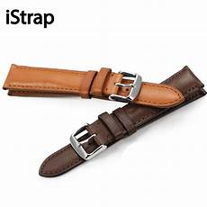 20mm 21mm 22mm Calf Leather by Istrap 18mm 19mm 20mm 21mm 22mm Black Brown Coffee