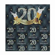5xft 7x5ft 20th Happy Birthday Studio 5xft 7x5ft 20th happy birthday studio photography