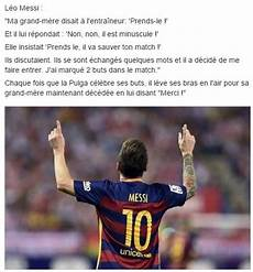 hommage grand mere quand messi rend hommage 224 sa grand m 232 re scoopnest