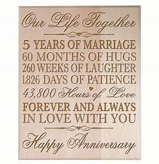 5 Year Wedding Anniversary Traditional Gift top 20 best 5th wedding anniversary gifts heavy