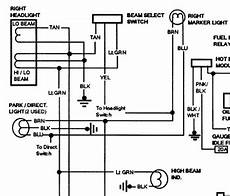 Solved Free Headlight Wiring Diagram For 1991 Gmc