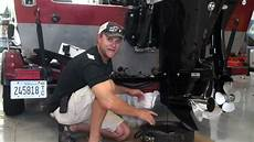 excessive oil from outboard exhaust how to change oil in an outboard iboats com youtube