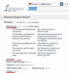 to german quot rechnung quot vs quot faktur quot for an invoice