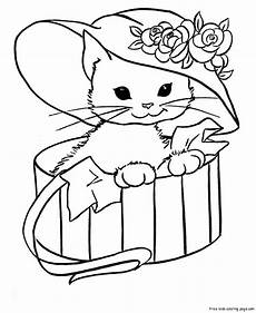 cat coloring pages free printable coloring