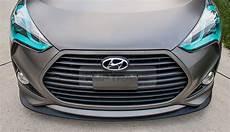 hyundai veloster probleme oem genuine parts front bumper lip metal grey for hyundai