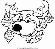 Malvorlagen Mit Rentier Rentier 56 Gratis Malvorlage In Rentier Weihnachten