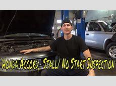 2007 Honda Accord Stall/ No Start   YouTube