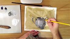 how to paint silver youtube