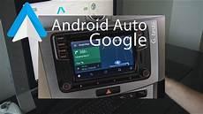 android auto dans n importe quelle voiture gps