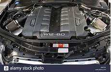 Detail Of A Motor Of An Audi W12 6 0 At Zagreb Auto Show