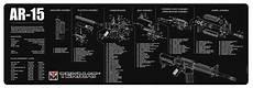 Tekmat Reinigungsunterlage Ar15 Parts Gun Cleaning Mat