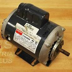 dayton 6k490k capacitor start motor hp 1 3 rpm 1725 frame 48 used ebay