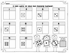 what s the missing number kindergarten math composing decomposing