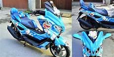 Modifikasi Motor Seperti Sepeda by Yamaha Nmax Quot Doraemon Quot